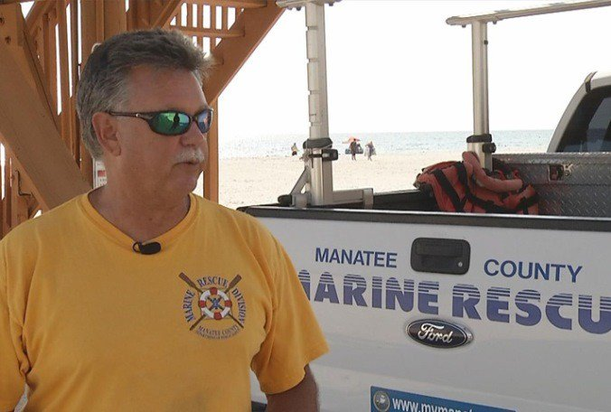 Aptly named lifeguard retiring after 40 years on Manatee beaches