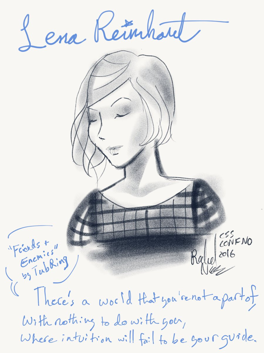 First conference fan art. @lrnrd #cssconfno https://t.co/Dq3WigbyYC