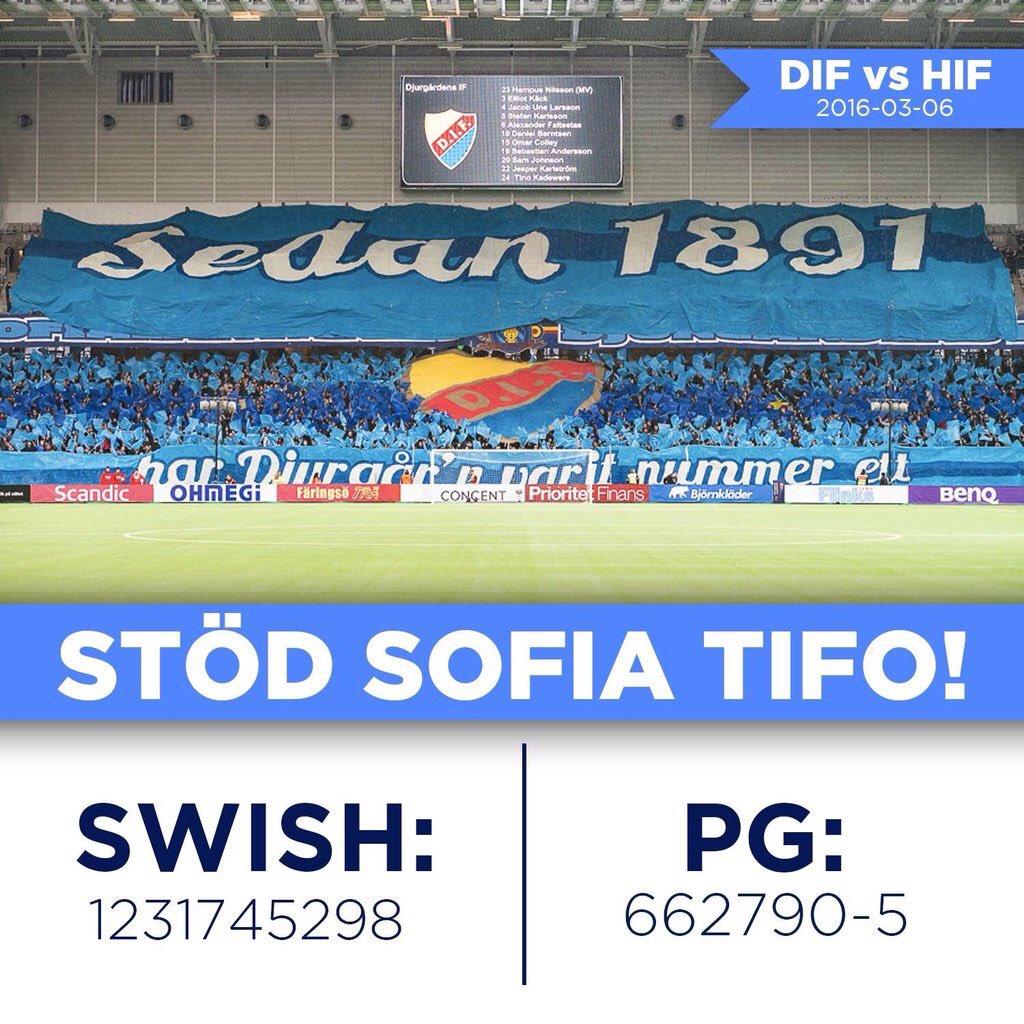 (Sw) Dags för sommarinsamling till #SofiaTifo. Swisha en slant och RT:a. Jag matchar med 1 SEK/RT i 24H max 12.5K https://t.co/PwSMuwzdyE