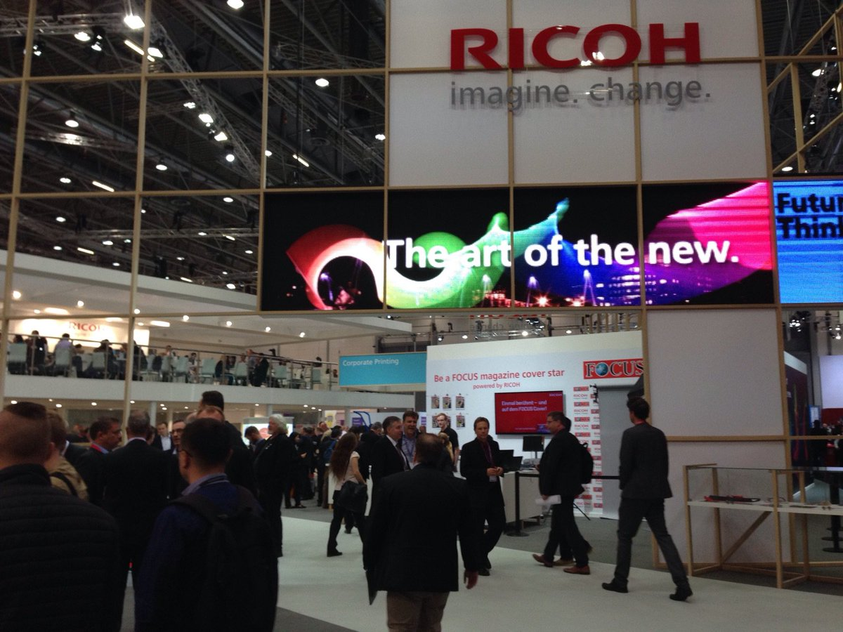 #drupa2016 attendees - your highlights so far? #digitalprint, value-added creative output are big cc @RicohEUBDriver https://t.co/v9sm0kLiwc