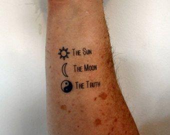 Tatuajes Pequenos On Twitter El Sol La Luna Y El Yin Yang