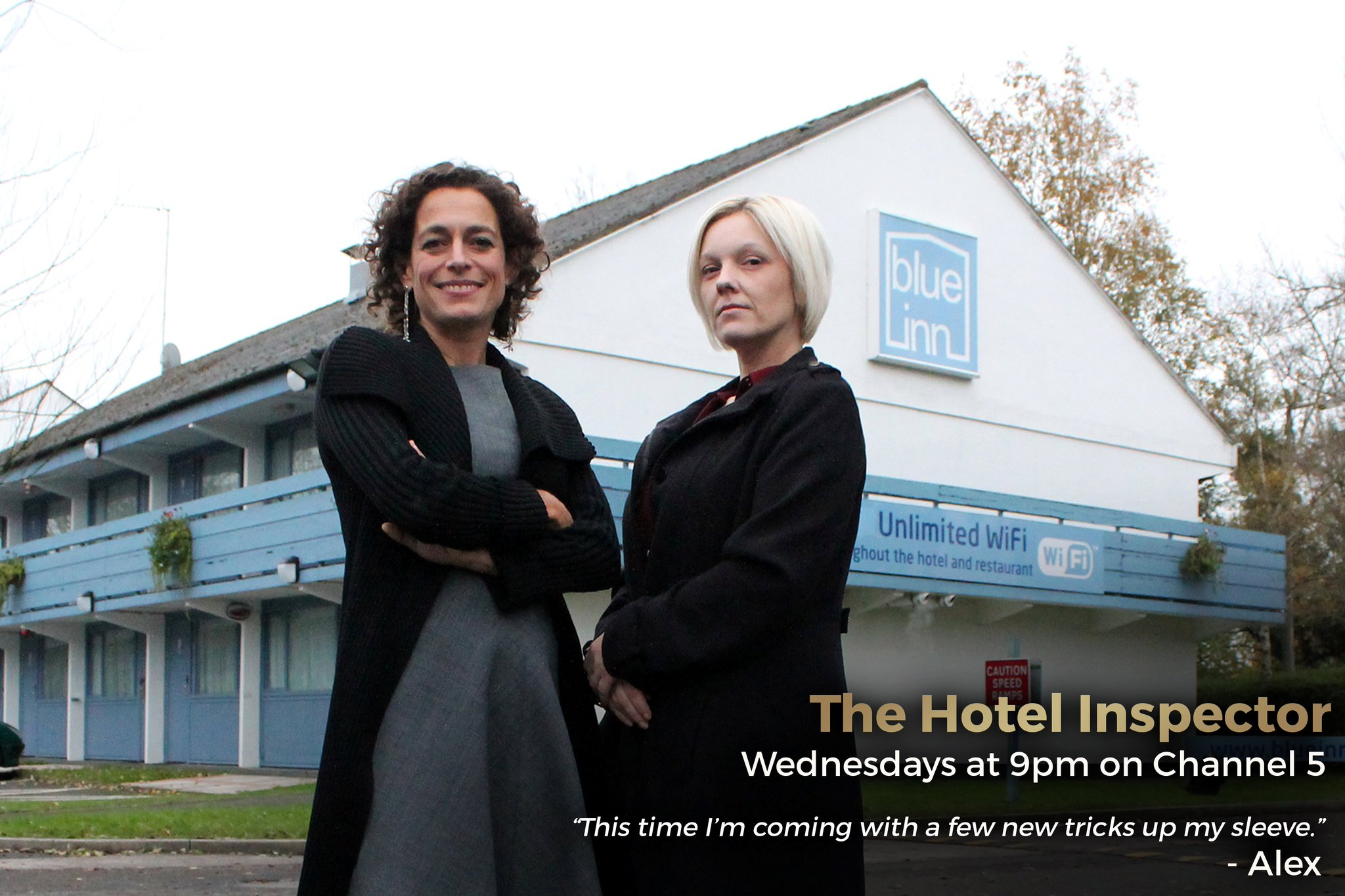 Hotel Inspector Episode 1 image courtesy of twitter.com/twofourtweets