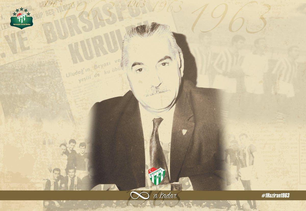 """Bursaspor on Twitter: """"Çelikspor'un son başkanı olan Salih ..."""