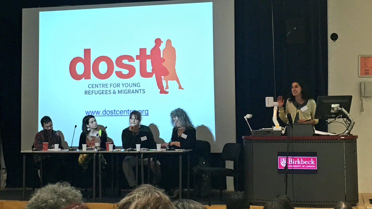 Great to hear from outstanding @LondonYouth member @DostCentre at this today's #PrecariousCitizenship conference ⭐️ https://t.co/UoSZjwKIwY