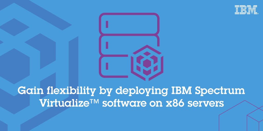 Manage & protect huge volumes of data w/ the new IBM Spectrum Virtualize software open beta! https://t.co/ZM8KunUjBU https://t.co/Hqf26e6HCu