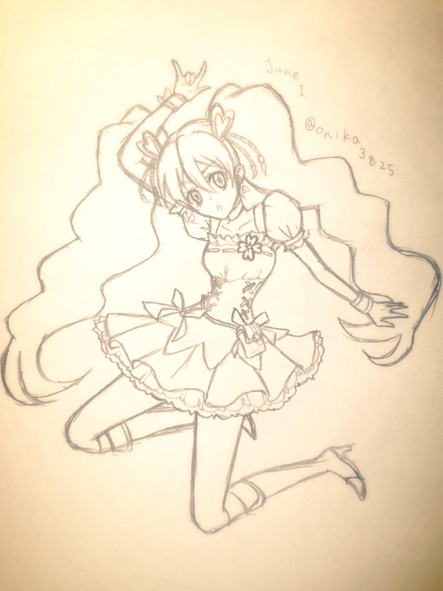 緒知オニカ (@onika3825)さんのイラスト