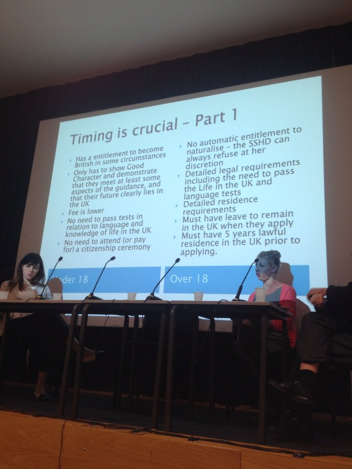 Timing is crucial. Much easier when u18 than over18 #precariouscitizenship @MiCLUteam @birkbeckgeds https://t.co/LztVK30gZq