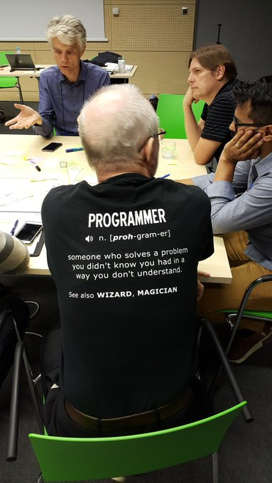 Programmers are magicians