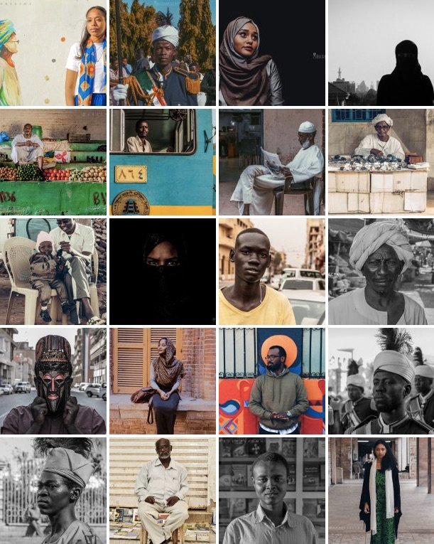 Stunning series of 1000 portraits from Sudan https://t.co/z0i27od8q0 https://t.co/KBPb7dFknE