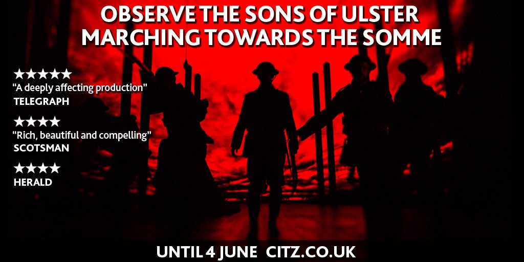 #ObserveTheSons marches on this weekend. RT to win a pair of tickets for Friday or Saturday's final performances https://t.co/UbNapKaybL