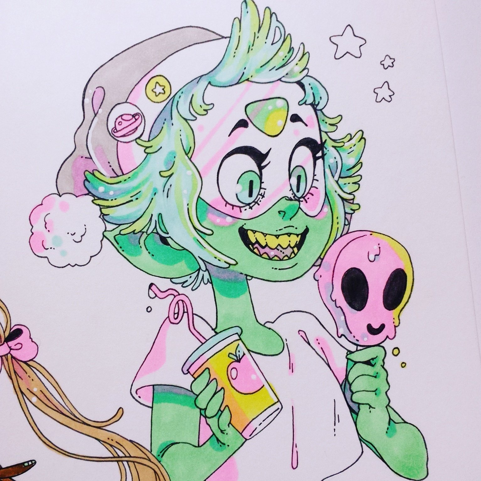 """a peri doodle!!! #StevenUniverse"""