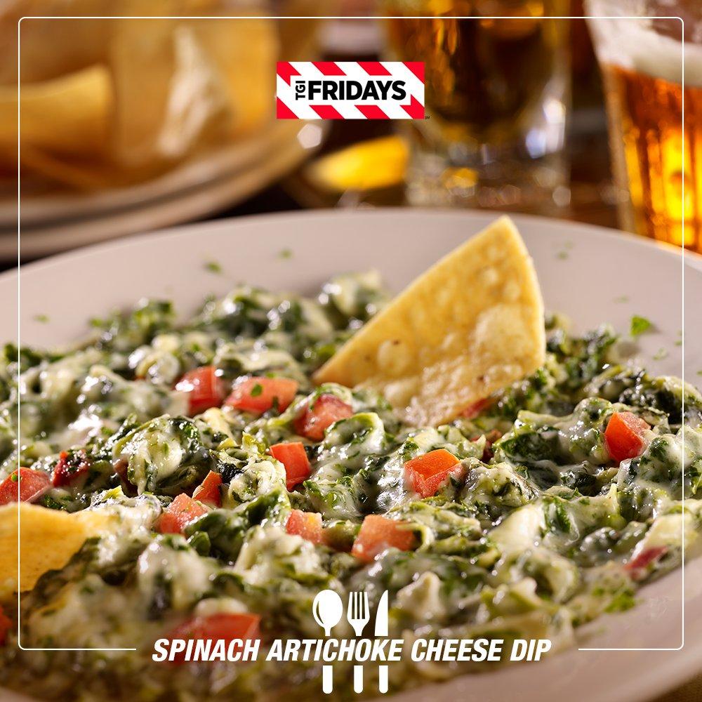 Tgi Fridays Tampico On Twitter Una Deliciosa Entrada Antes De Almorzar Spinach Artichoke Cheese Dip