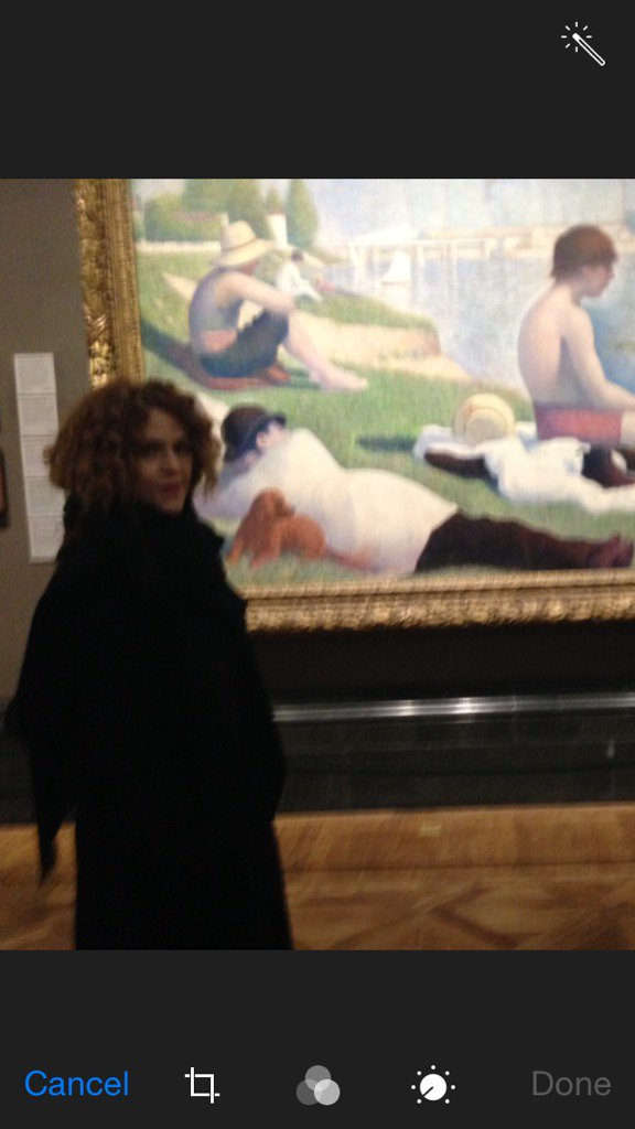 I always visit the painting when I'm in London