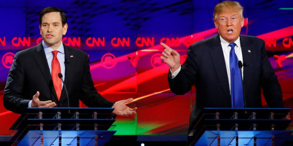 Rubio Supports Trump But Rules Out VP