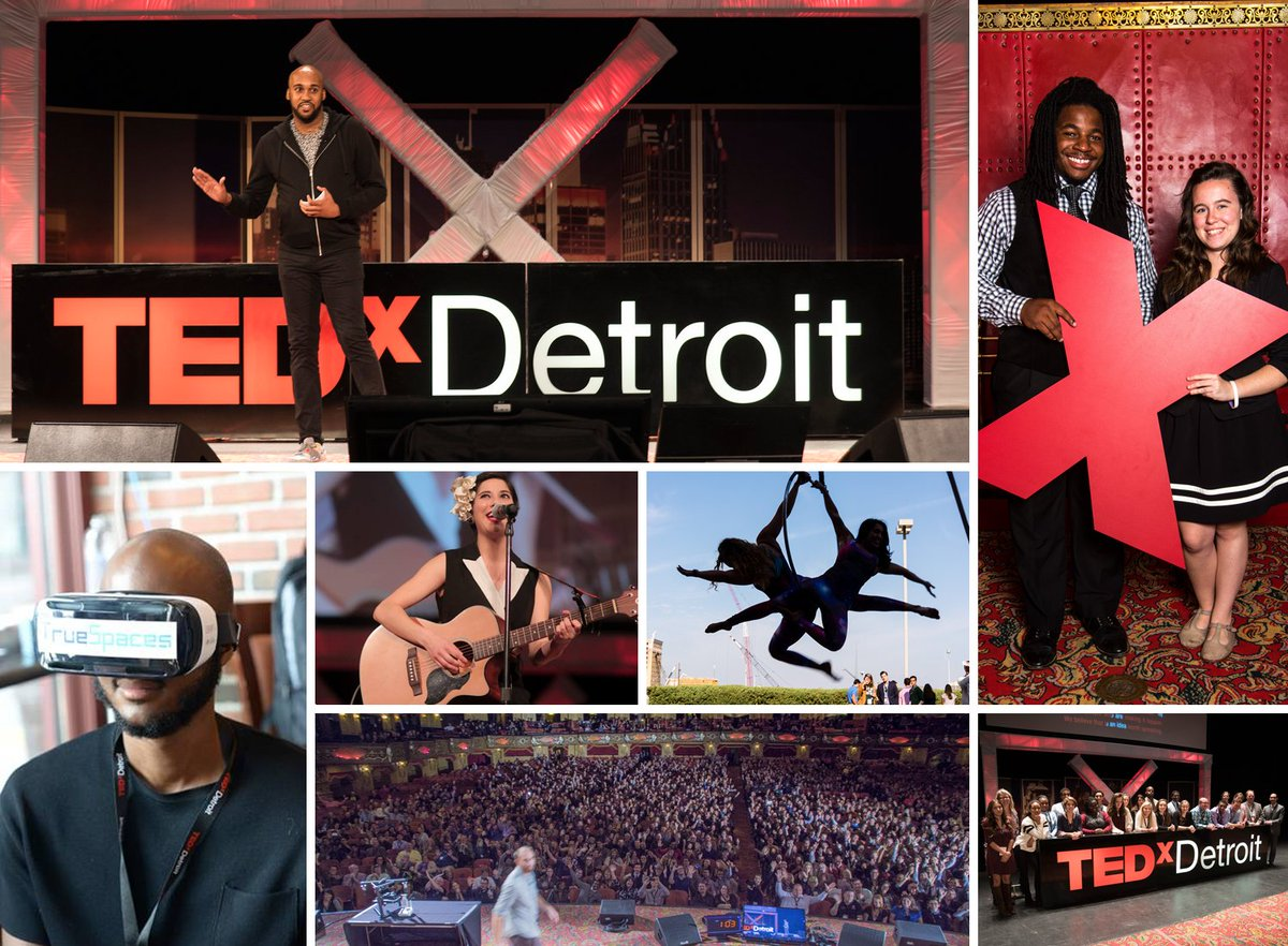 Ready to do it all again? @TEDxDetroit returns to the @FoxTheatreDet Thursday, October 6th: https://t.co/1KdHCs3DSq https://t.co/sW1hZzwpFb