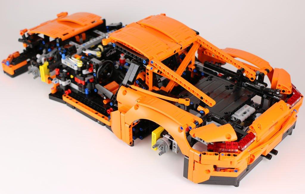 Zusammengebaut On Twitter Lego Technic Porsche 911 Gt3