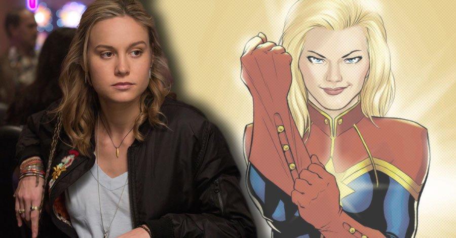 Brie Larson Is Frontrunner To Play Captain Marvel 1