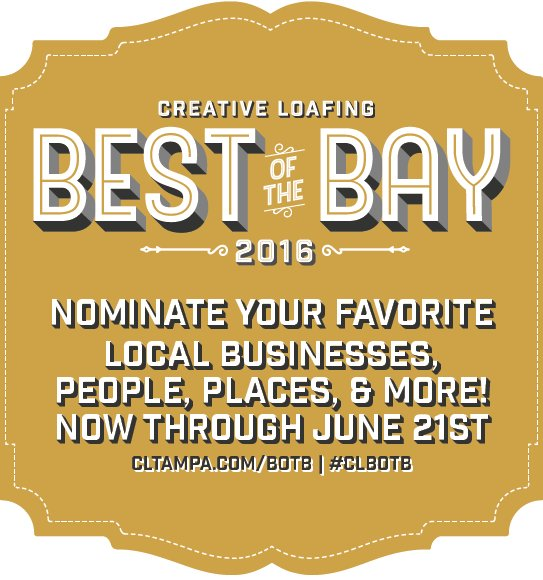 best of the bay 2016 nominations open