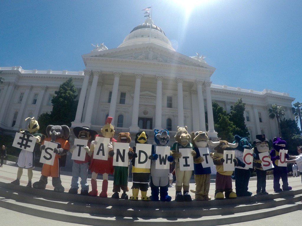 Thumbnail for #StandwithCSU: CSU Mascots Visit the Capitol