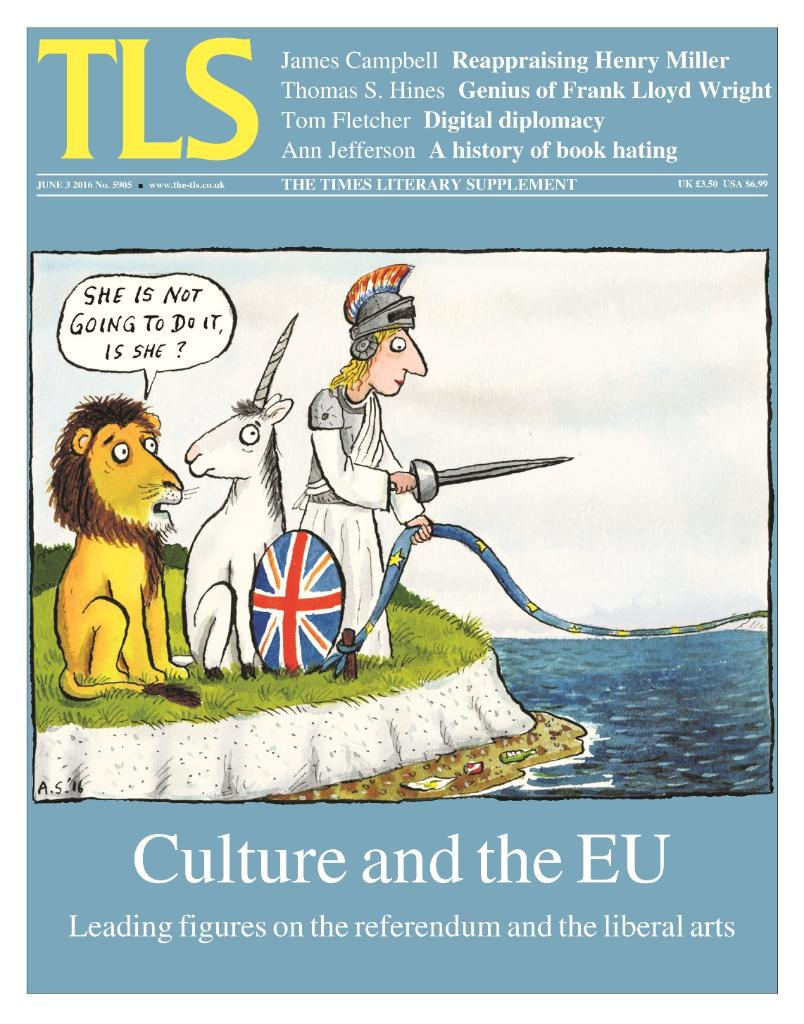 "In this week's TLS: A letter from cultural figures across Europe says ""Britain, please stay"" https://t.co/OHKEVfowqx https://t.co/fedxbznU2e"