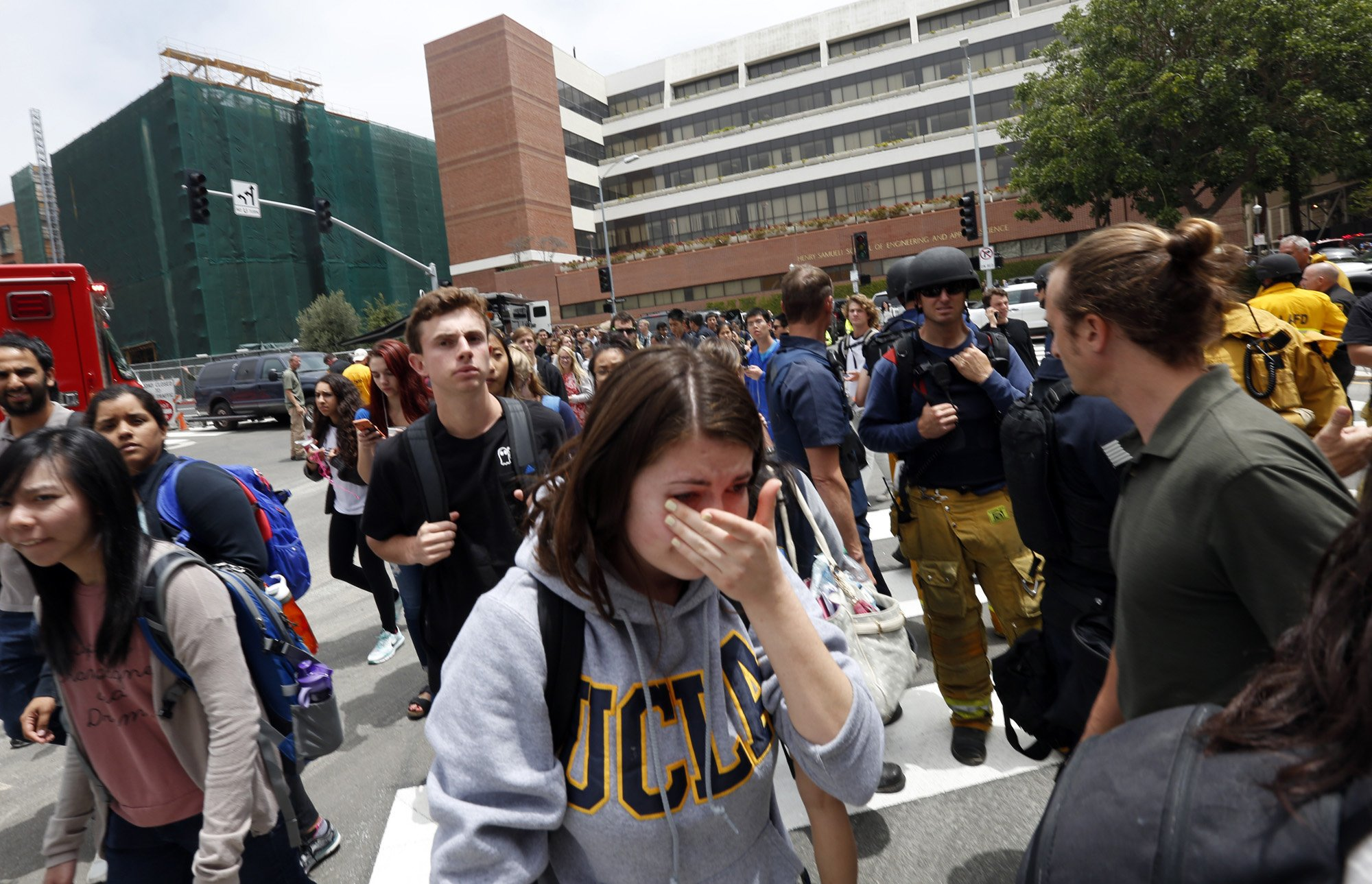 students and staff describe chaos at ucla la times