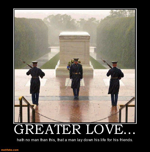 """Janine Stange On Twitter: """"Greater Love Hath No Man Than"""