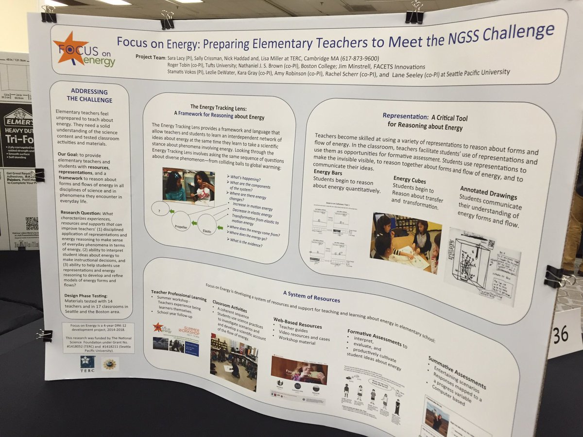 So exciting to see multiple TERC posters here at #DRK12meeting https://t.co/q4BrPCDsWL
