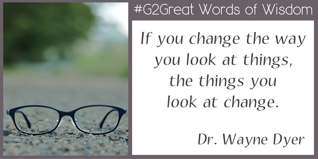 #G2Great Words of Wisdom to inspire our chat tonight https://t.co/KdrtY9AwJZ