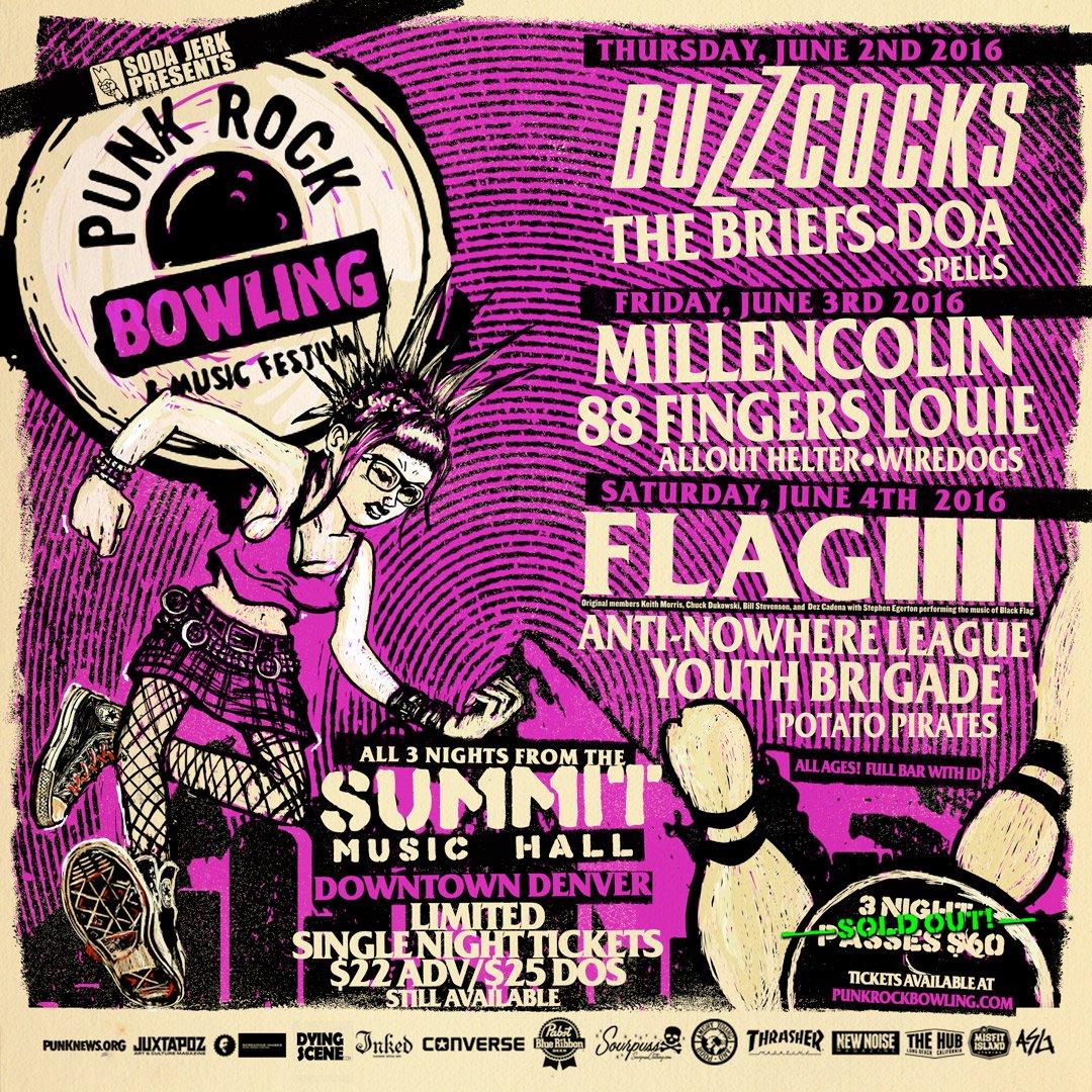9bc7b95f3f2 We ve got our sights set on you  Denver for  PRB2016 starting TOMORROW!  Tix  http   punkrockbowling.com pages prb-denver-june-2-4-2016  …pic.twitter.com  ...