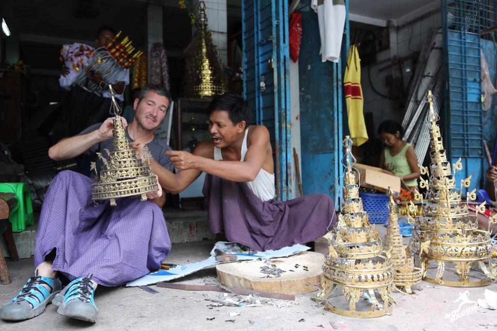 Deafnation On Twitter Deaf Handicrafts Maker For Buddha Pagoda