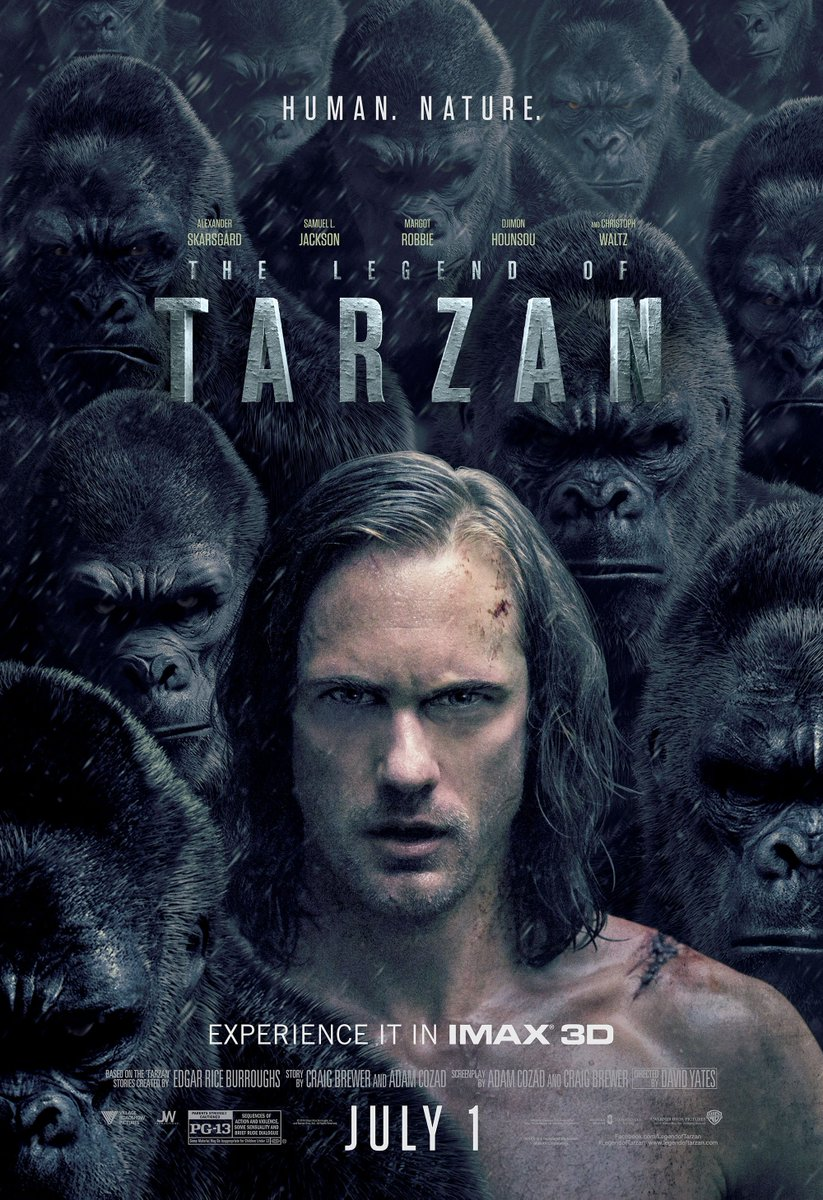 The Legend of Tarzan IMAX Poster Revealed 1