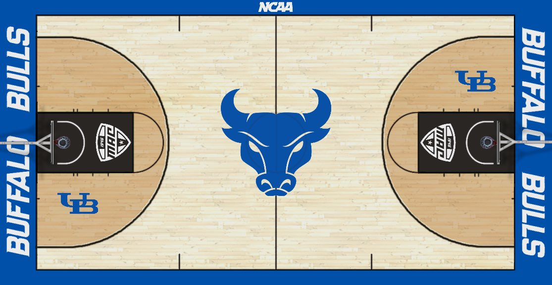 And1 Designs On Twitter Buffalo Bulls Basketball Court Concept