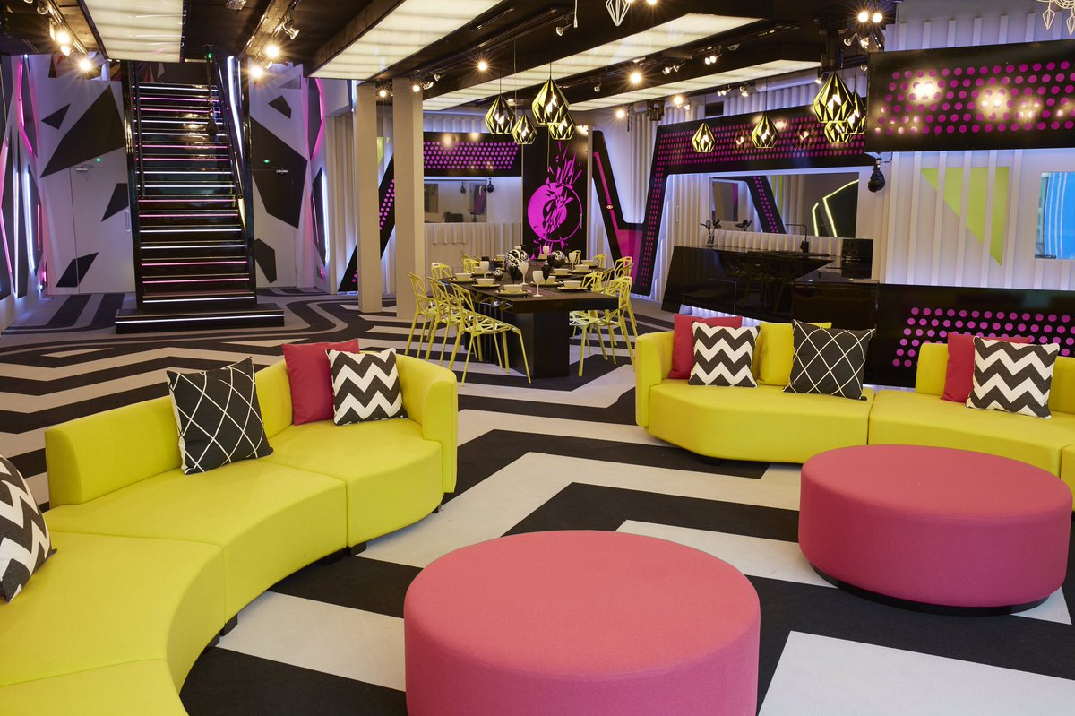Ladies and gents... here's your very first look at the Big Brother 2016 House!