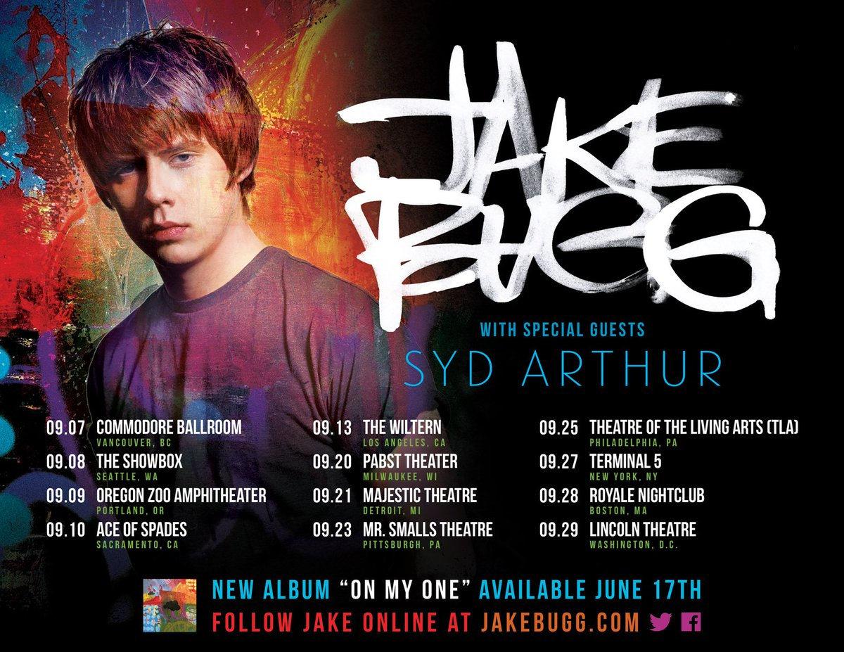 Road tripping in the USA/Canada this Autumn w/ @JakeBugg @wiltern @Terminal5NYC @harvest_records @sonyatvpubuk https://t.co/8ijd0rmtZR