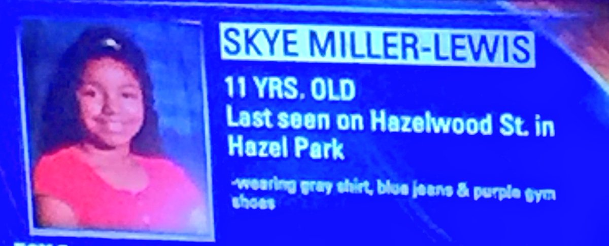PLEASE RETWEET: Another missing child.  This one in Hazel Park. https://t.co/LxAmYFnBOs