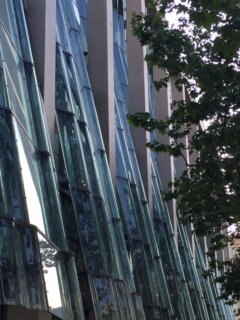 In awe of sleek #Berlin architecture �� #travel #cities https://t.co/hMenNzKw64