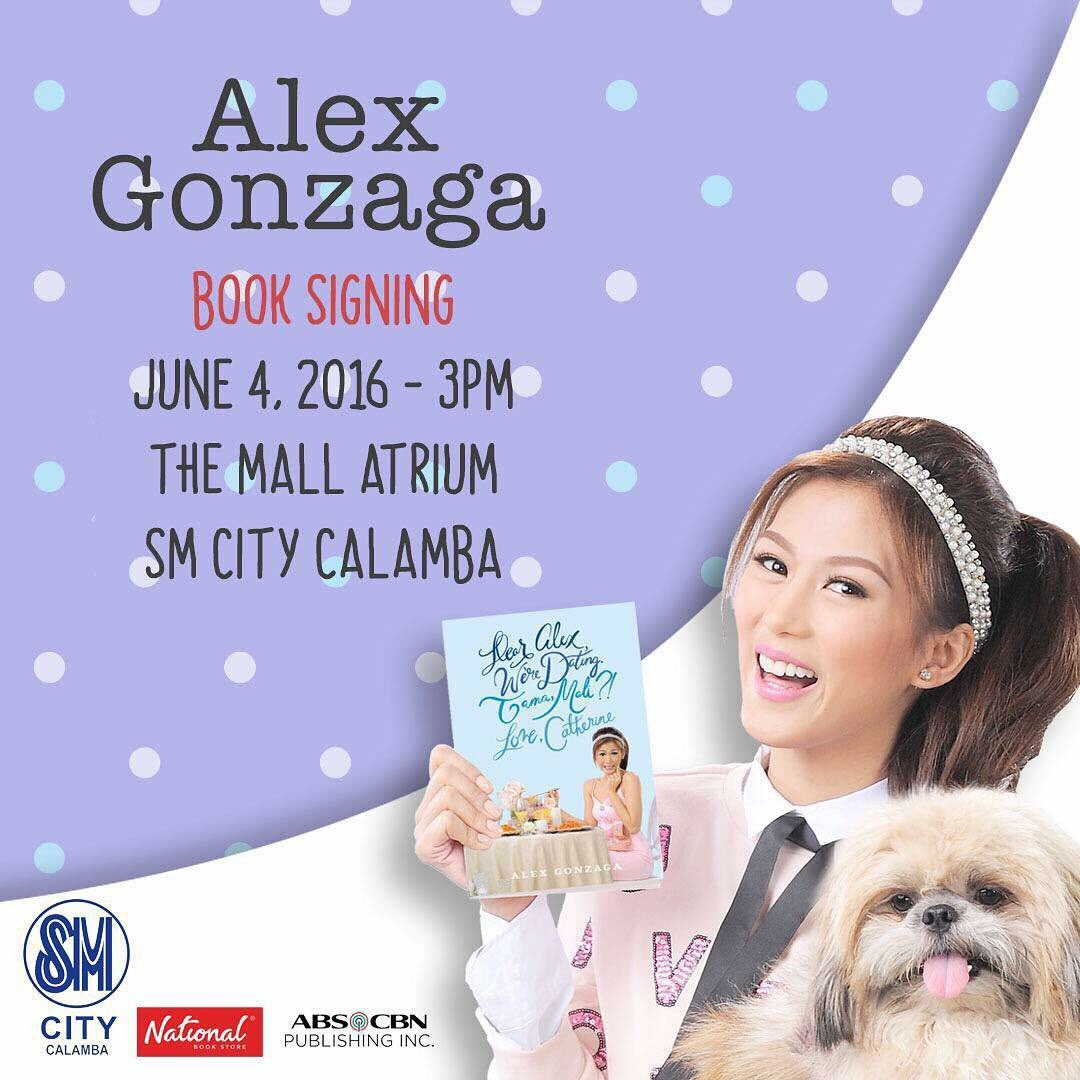 Alex Gonzaga Book