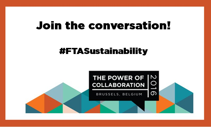 Day two is about to begin! Follow the live updates of our #sustainability day via #ftasustainability https://t.co/SReQ1WHRI7