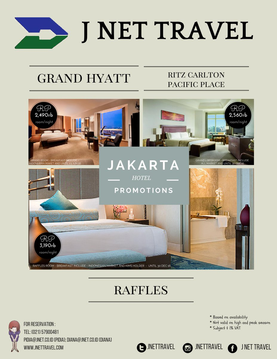 J Net Travel On Twitter J Net Newest Promo Jakarta Hotel Promotions For More Info Please Contact Us 021 57900481 Jakarta Hotelpromotion