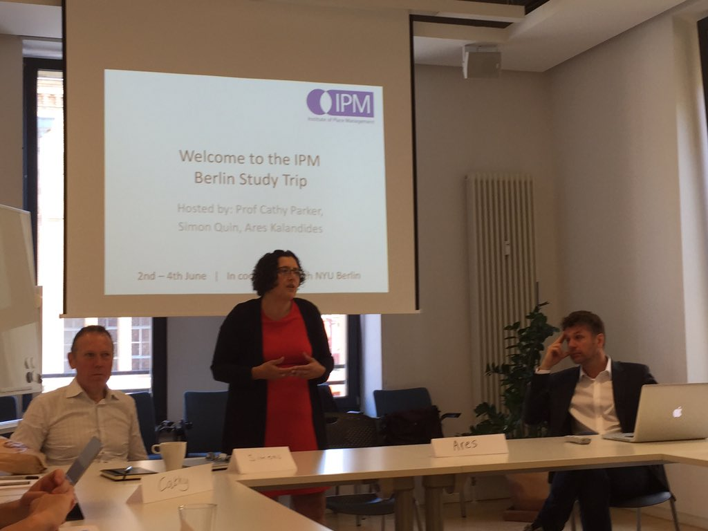 #ipmberlin Just started @profcathyparker @SimonWQuin @AresK10 https://t.co/ldXo4HEv4E