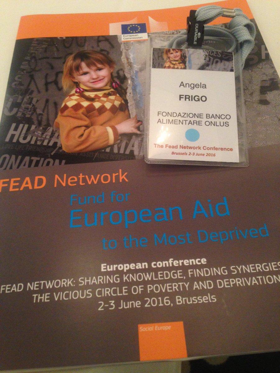 Eccoci qui al #FEADNetwork #FestadellaRepubblica #Bruxelles #sempresulpezzo https://t.co/e298tOPDWt