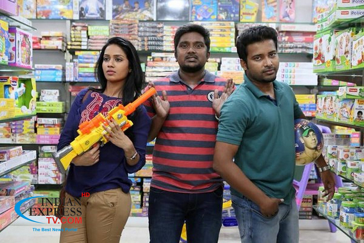 #Oru_Naal_Koothu Movie Stills   More Pics:   #DineshRavi #Bala_Saravanan #Miya_George