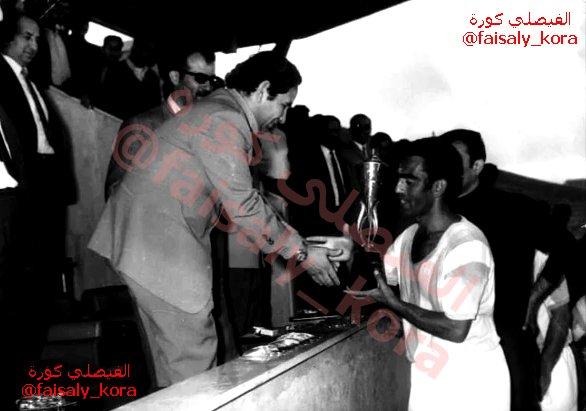 Thumbnail for الفيصلي يحرز كأس دورة الصاعقة (الذكرى الخمسين لتأسيس المملكة الاردنية الهاشمية) عام 1971م