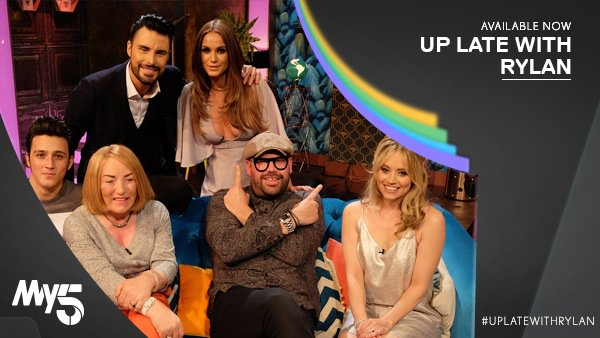 RT @UpLateWithRylan: Last night's #UpLateWithRylan saw @Rylan get his leg over. Missed it? Catch up on @My5_tv https://t.co/Ku1yI0s2zu http…