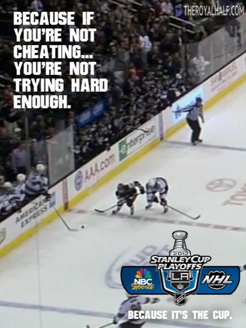Trust me, Logan Couture knows all about how a player can cheat and get away with it. https://t.co/BnpGPEBO7c