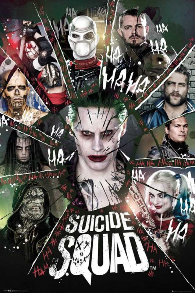 New Suicide Squad Posters Revealed 4