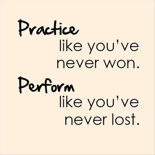 Practice like you've never won. Perform like you've never lost.  @SalwinAnand https://t.co/VKx5Nbv8un #growthmindset #effort