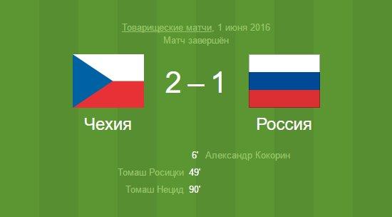 любое другое матч россия чехия 2016 инструкцию действиям