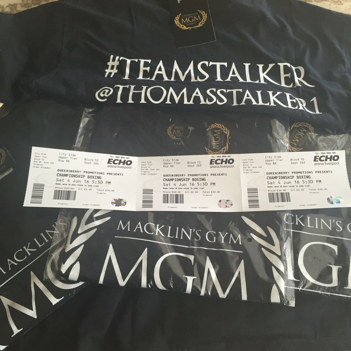 To win 3 @MGM_Marbella tops and 3 tickets for the boxing on sat follow @Mabel_Doll #WomensDesignerBoutigue #RT https://t.co/T6pJHRnyi7