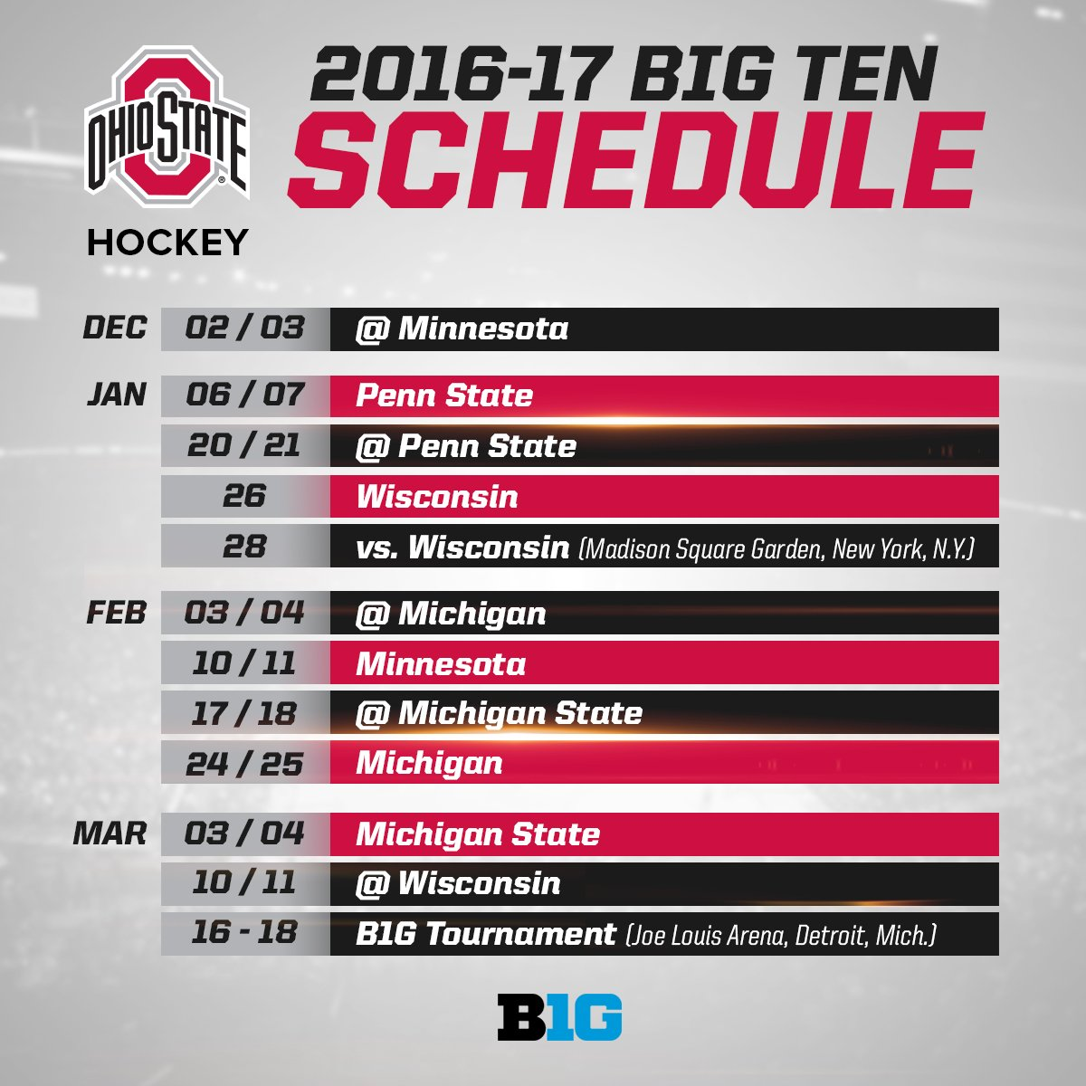 ohio state football schedule